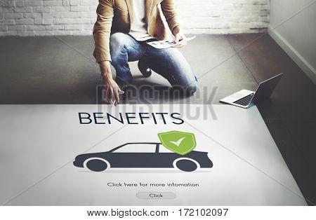 Car Auto Motor Insurance Reimbursement Vehicle Concept