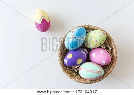 Easter traditional to paint eggs.