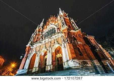 Church St. Joseph in Krakow Poland .Europe