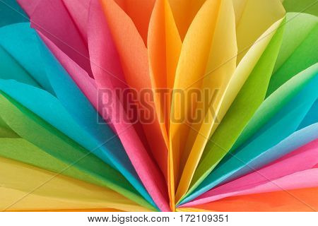 Abstract colorful paper background. Multicolor paper texture