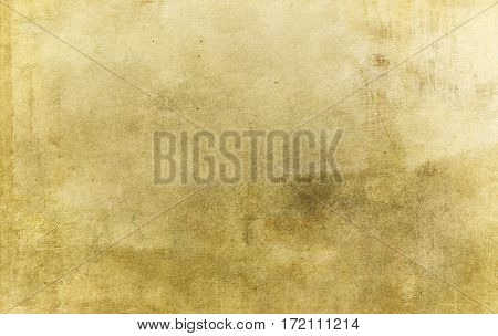 Aged paper background or paper texture for the design. Grunge paper.