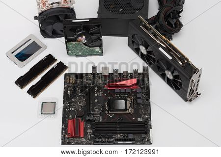New Components For Building Desktop Pc