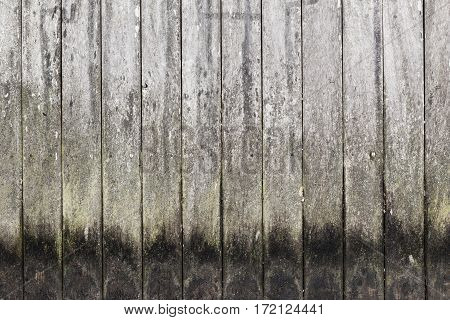 Old Dark Grungy Wooden Wall Pattern