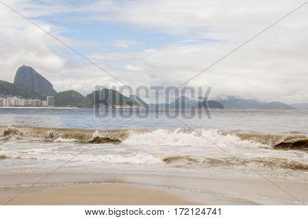 Copacabana Beach In Rio De Janeiro - Brazil