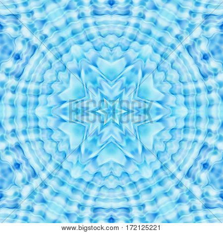 Abstract Concentric Ripples Pattern