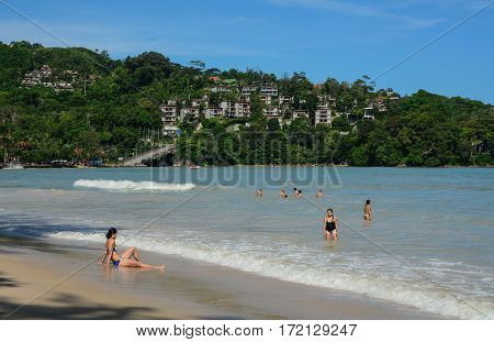 Seascape In Phuket, Thailand