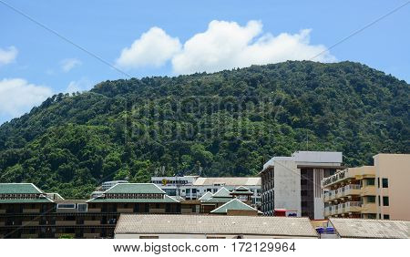 Buildings Located In Phuket, Thailand