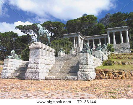 RHODES MEMORIAL, CAPE TOWN SOUTH AFRICA