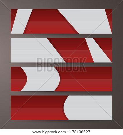 Horizontal Banner Set Presentation Header02