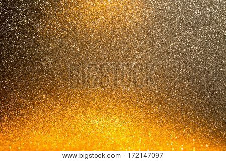 Holiday abstract background with golden gradient fill