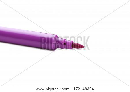 Felt-tip Pen Isolated On A White Background