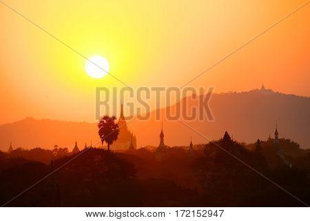 The Temples of Bagan (Pagan), Mandalay, Myanmar