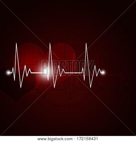 Abstract Heart Pulse