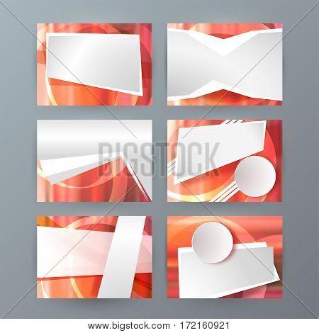 Set Of 6 Design Business Brochure  Templates For Multipurpose Presentation Slides05