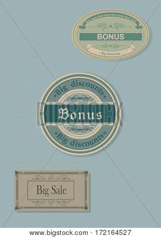 Label discount template bonus.  Label discount template bonus.