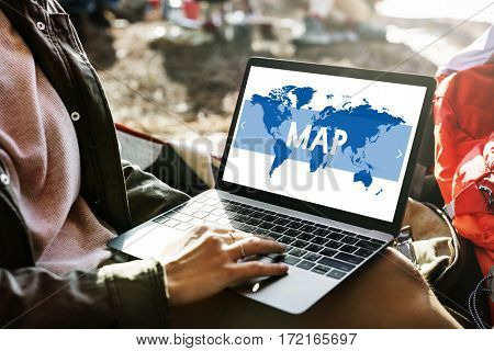 Location Destination Journey Map Route Travel
