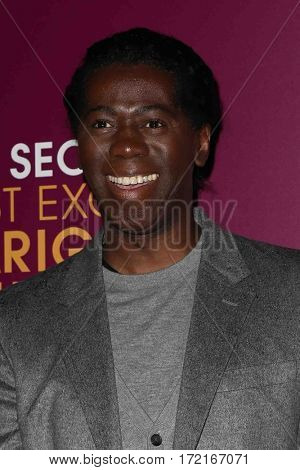 NEW YORK-MAR 3: Television personality J. Alexander, aka Miss J, attends the premiere of