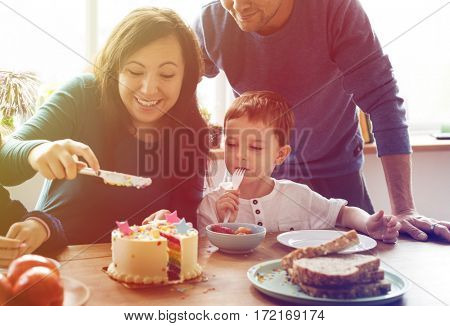 Family Event Birthday Party Togetherness Happiness
