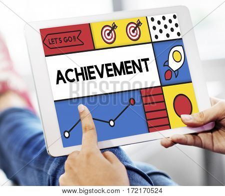 Achievement browsing online business connection