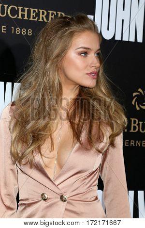 LOS ANGELES - JAN 30:  Tanya Mityushina at the