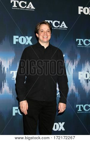 LOS ANGELES - JAN 11:  Eric Milligan at the FOXTV TCA Winter 2017 All-Star Party at Langham Hotel on January 11, 2017 in Pasadena, CA