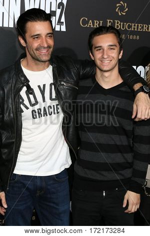LOS ANGELES - JAN 30:  Gilles Marini, son at the