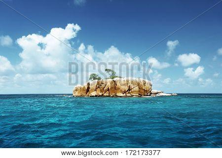 stone island at Seychelles