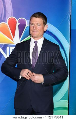 LOS ANGELES - JAN 18:  Philip Winchester at the NBC/Universal TCA Winter 2017 at Langham Hotel on January 18, 2017 in Pasadena, CA