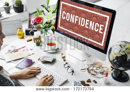 Inspire Lifestyle Confidence Red Flowers