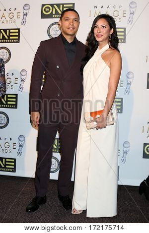 LOS ANGELES - FEB 10:  Trevor Jackson, Guest at the Non-Televisied 48th NAACP Image Awards at Pasadena Conference Center on February 10, 2017 in Pasadena, CA