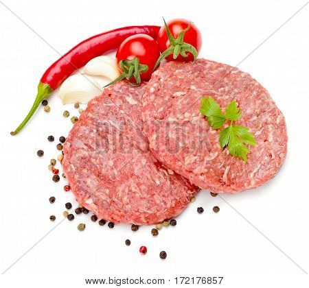 Raw Hamburger Meat
