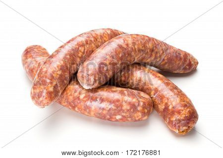 Homemade Traditional Thick Pork Sausages