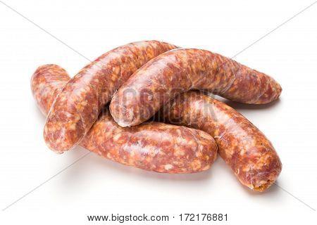 Homemade Traditional Thick Pork Sausages