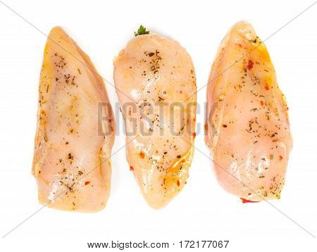 Marinated And Stuffed Chicken Breast Fillet