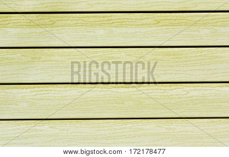 Yellow Color Plastic House Wall.