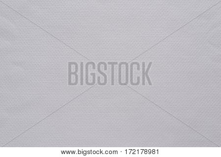 texture and background of fabric or cotton material of dark white color