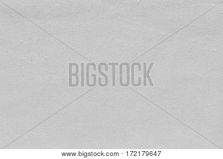 abstract background and texture of denim fabric or textile material of white color