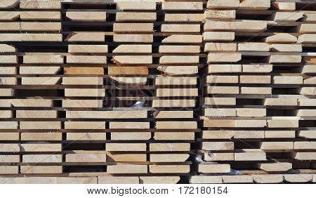 wooden planks side view wood stack background