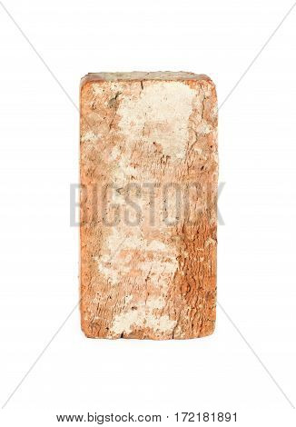 Old Red Brick Isolated