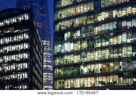 business Office, Corporate building London City, England