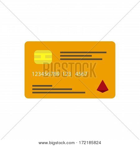 Credit card icon. Web sites and print projects