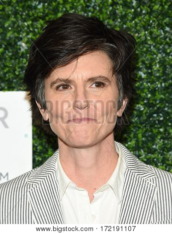 LOS ANGELES - FEB 16:  Tig Notaro arrives for the An Unforgettable Evening on February 16, 2017 in Beverly Hills, CA