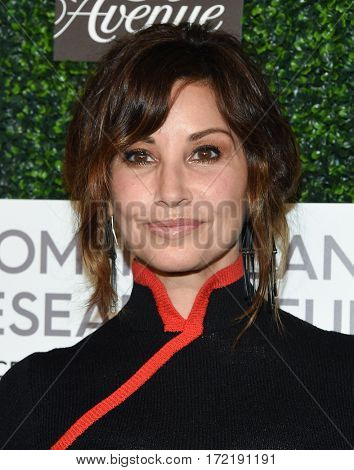 LOS ANGELES - FEB 16:  Gina Gershon arrives for the An Unforgettable Evening on February 16, 2017 in Beverly Hills, CA
