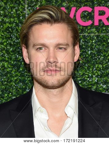 LOS ANGELES - FEB 16:  Chord Overstreet arrives for the An Unforgettable Evening on February 16, 2017 in Beverly Hills, CA