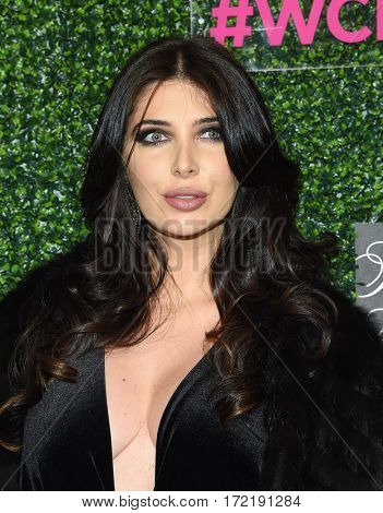 LOS ANGELES - FEB 16:  Brittny Gastineau arrives for the An Unforgettable Evening on February 16, 2017 in Beverly Hills, CA