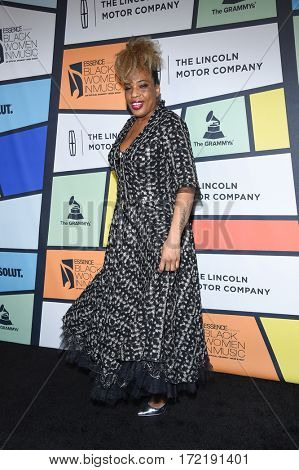 LOS ANGELES - FEB 09:  Macy Gray arrives for the ESSENCE 8th Annual Black Women In Music on February 9, 2017 in Hollywood, CA