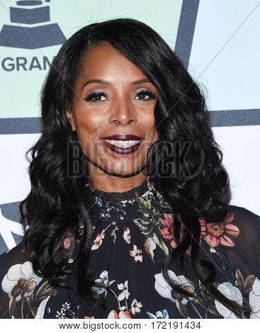 LOS ANGELES - FEB 09:  Tasha Smith arrives for the ESSENCE 8th Annual Black Women In Music on February 9, 2017 in Hollywood, CA