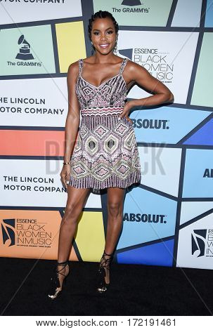 LOS ANGELES - FEB 09:  LeToya Luckett arrives for the ESSENCE 8th Annual Black Women In Music on February 9, 2017 in Hollywood, CA