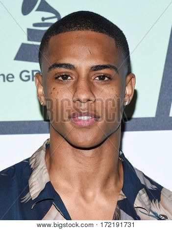 LOS ANGELES - FEB 09:  Keith Powers arrives for the ESSENCE 8th Annual Black Women In Music on February 9, 2017 in Hollywood, CA