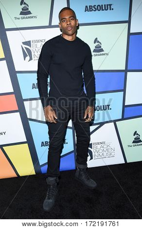 LOS ANGELES - FEB 09:  Mario arrives for the ESSENCE 8th Annual Black Women In Music on February 9, 2017 in Hollywood, CA
